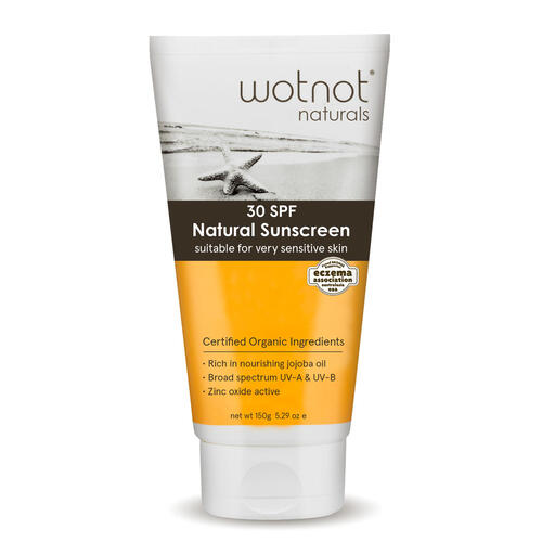 Wotnot Natural Sunscreen SPF 30 For Family - Econique