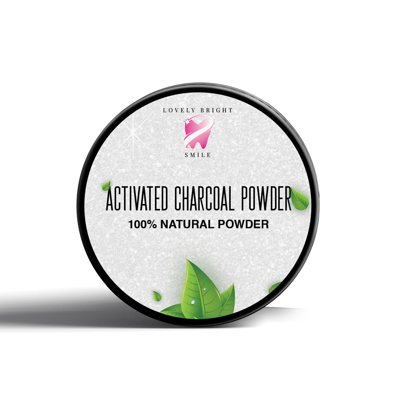 Mint Activated Charcoal Teeth Whitening Powder