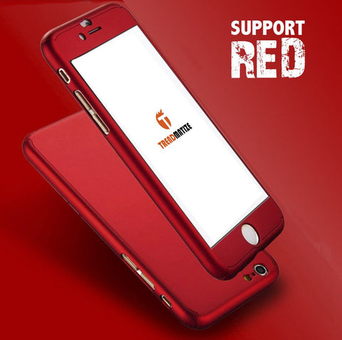 Ultra Thin Red iPhone Case
