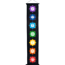 Cotton Color Print Banner Chakras