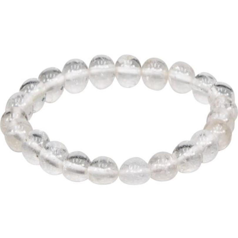 Clear Crystal Quartz Bracelet