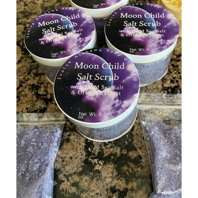 Moon Child Dead Sea Salt Scrub