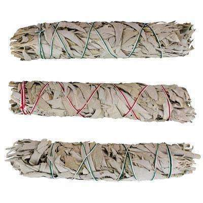 California White Sage Smudge Sticks, Extra Large