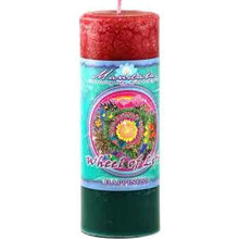 Mandala Pillar Candle