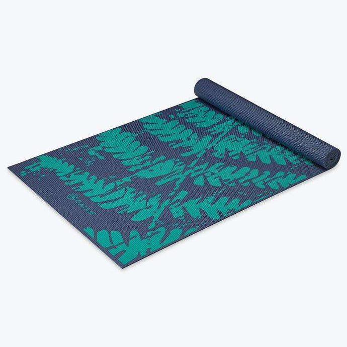 Midnight Fern Yoga Mat, 4mm
