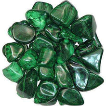 Natural Tumbled Crystals and Stones,Malachite