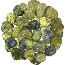 Natural Tumbled Crystals and Stones,Serpentine