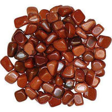Natural Tumbled Crystals and Stones,Goldstone (Man-Made)