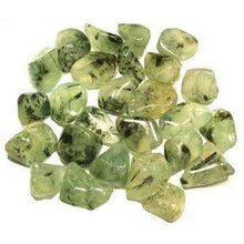 Natural Tumbled Crystals and Stones,Prehnite with Epodite