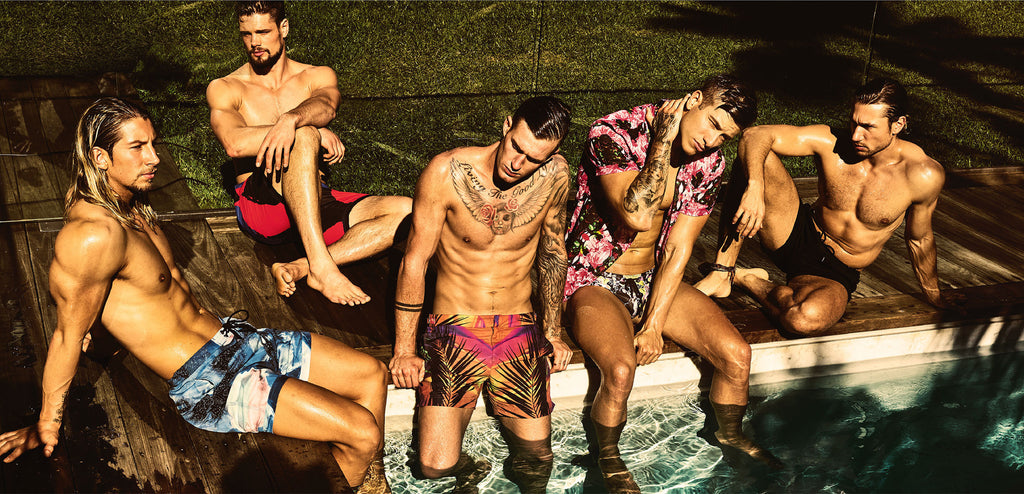 Grayson Boyd Australian Swimwear Brand / Swimwear store - Designer Swimwear Australia specialising in male swimmers, togs, bondi swimwear, boardies, showcasing iconic Australia with Australian design from this Australian swimwear label and swimwear boutiq