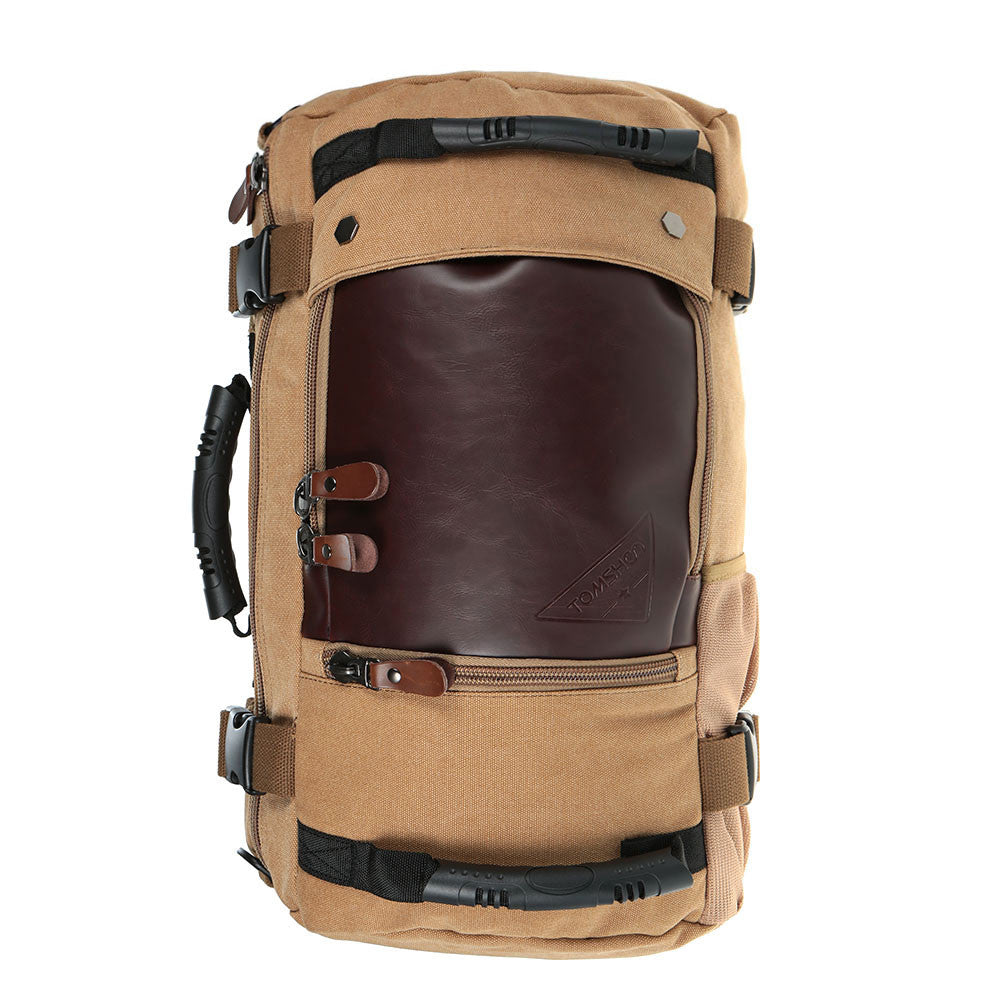 Heavy Duty Canvas & Leather Travel Bag