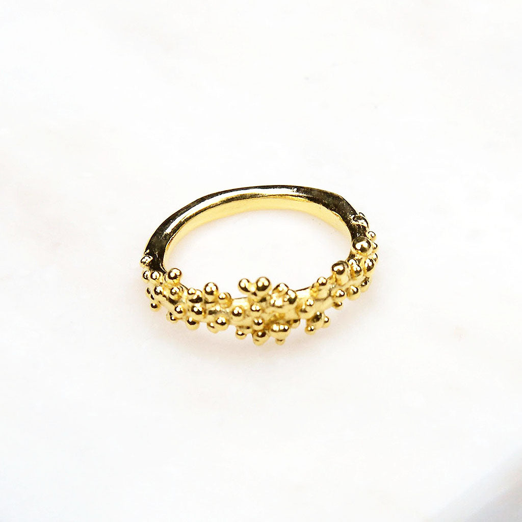 Gold ring. Simple gold ring. Beautiful gold ring. Classic. Contemporary. Chic. Modern gold ring. Fine gold ring. Handmade jewellery Australia. Handmade jewellery Sydney. Gold Jewellery Australia. Handcrafted.