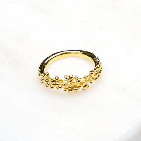 Contemporary Ring - Yellow Gold