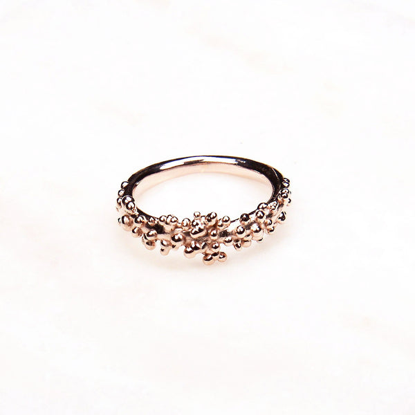 Contemporary Ring - Rose Gold