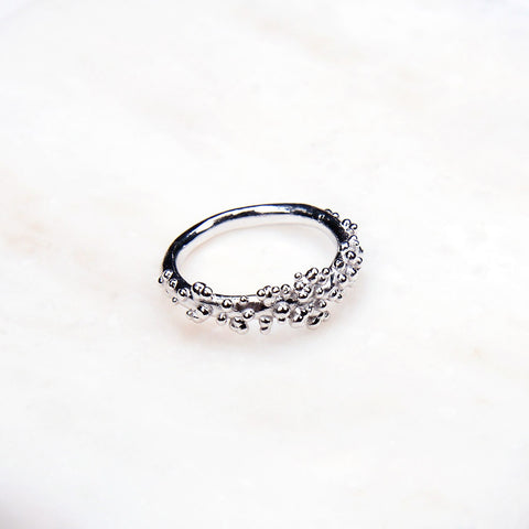 Contemporary Ring - Silver