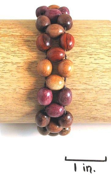 Wood Bracelet - Bibi - Natural Artist