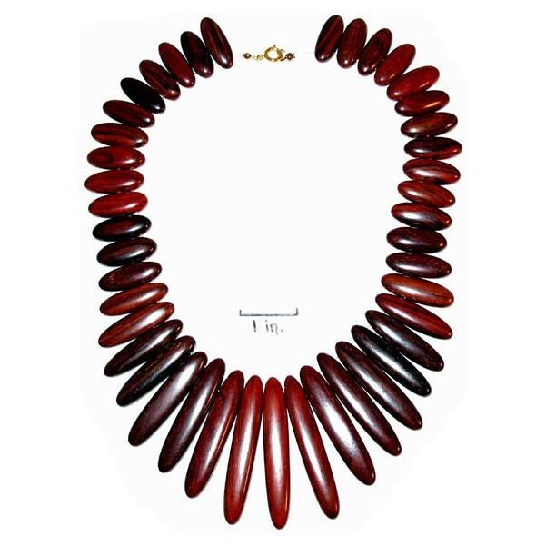 Rosewood Necklace - Delila - Natural Artist