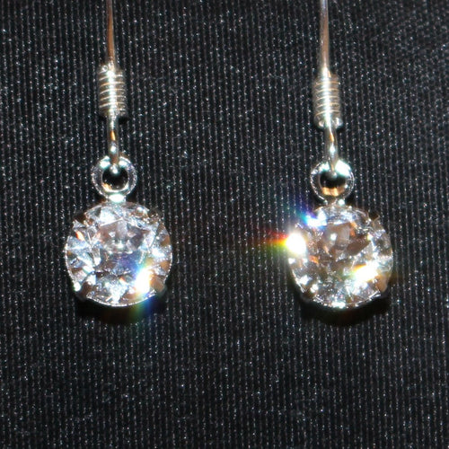 Swarovski Crystal Drop Earrings - Natural Artist