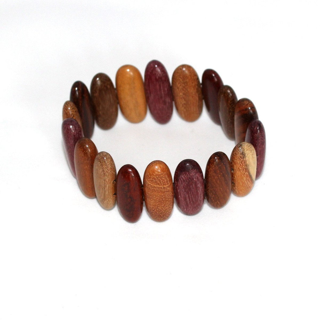 Wood Bracelet - Aurealis - Natural Artist