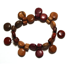 Wood Bracelet - Camilla - Natural Artist