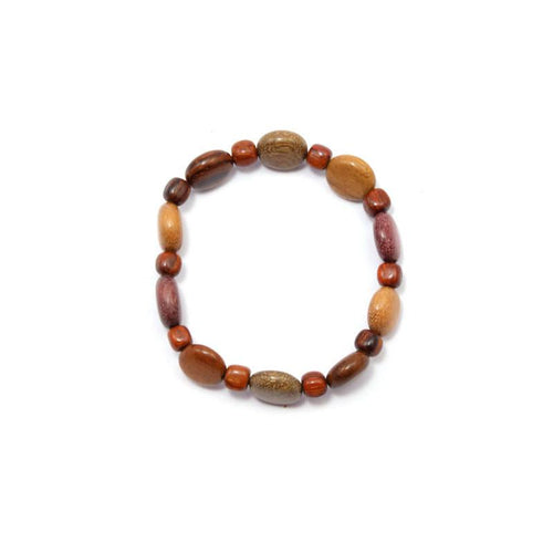 Wood Bracelet - Damara - Natural Artist
