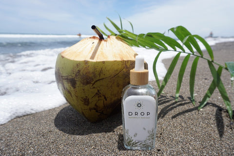 virgin coconut oil from indonesia by drop