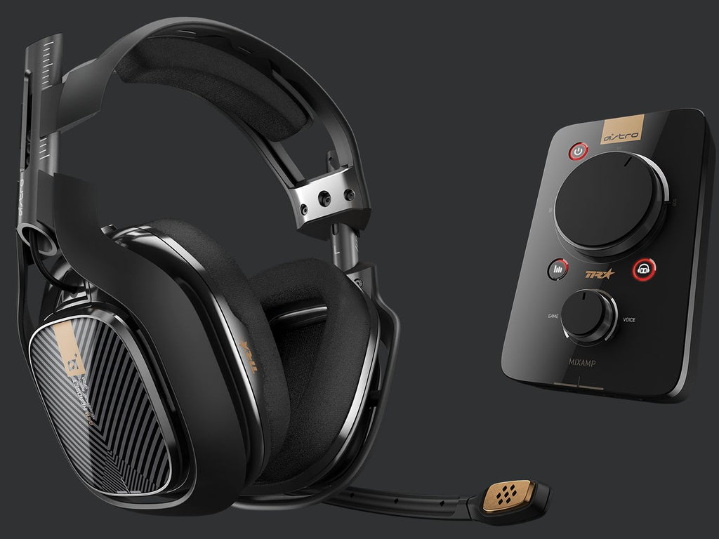 ASTRO A40 TP Gaming Headset + MixAmp Pro TR Black