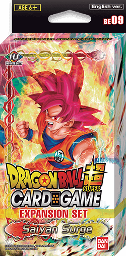 Dragon Ball Super Card Game - [DBS-BE09] Saiyan Surge Expansion Set