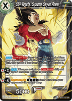 DBSCG-BT11-124 SR SS4 Vegeta, Supreme Saiyan Power
