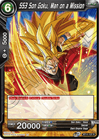 DBSCG-BT11-127 R SS3 Son Goku, Man on a Mission