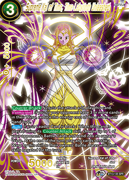 DBSCG-BT13-135 SPR Supreme Kai of Time, Time Labyrinth Unleashed