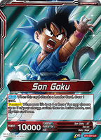 DBSCG-BT4-001 UC Son Goku // Energy Burst Son Goku