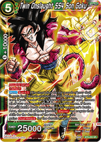 BT5-055 SR Twin Onslaught SS4 Son Goku