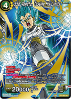 BT5-083 SR SSB Vegeta, Testing His Limits