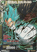BT5-083 SPR SSB Vegeta, Testing His Limits