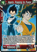 BT6-009 C Vegeta, Prepping for Fusion