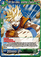 DBSCG-BT9-097 R SS Son Goku, Another Chance