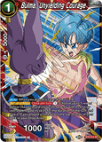BT8-012 SR Bulma, Unyielding Courage