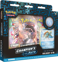 Pokémon TCG: Champion's Path - Hulbury Gym Pin Collection