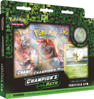 Pokémon TCG: Champion's Path - Turffield Gym Pin Collection