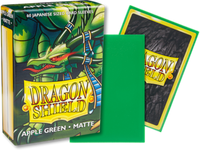 Dragon Shield - Apple Green 'Eluf' Matte Mini Card Sleeves