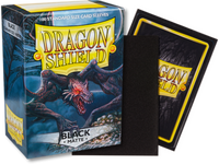 Dragon Shield - Black 'Rhipodon' Matte Card Sleeves