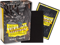 Dragon Shield - Black 'Sokush' Matte Mini Card Sleeves