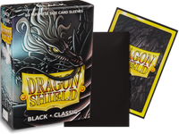 Dragon Shield - Black 'Tao Dong' Classic Mini Card Sleeves