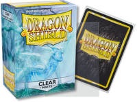Dragon Shield - Clear 'Angrozh' Matte Card Sleeves