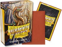 Dragon Shield - Copper 'Munay' Matte Mini Card Sleeves