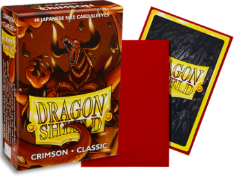 Dragon Shield - Crimson 'Rendshear' Classic Mini Card Sleeves