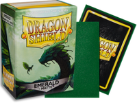 Dragon Shield - Emerald 'Rayalda' Matte Card Sleeves