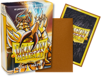 Dragon Shield - Gold 'Pontifex' Matte Mini Card Sleeves