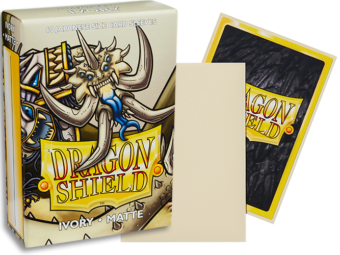 Dragon Shield - Ivory 'Opylae' Matte Mini Card Sleeves